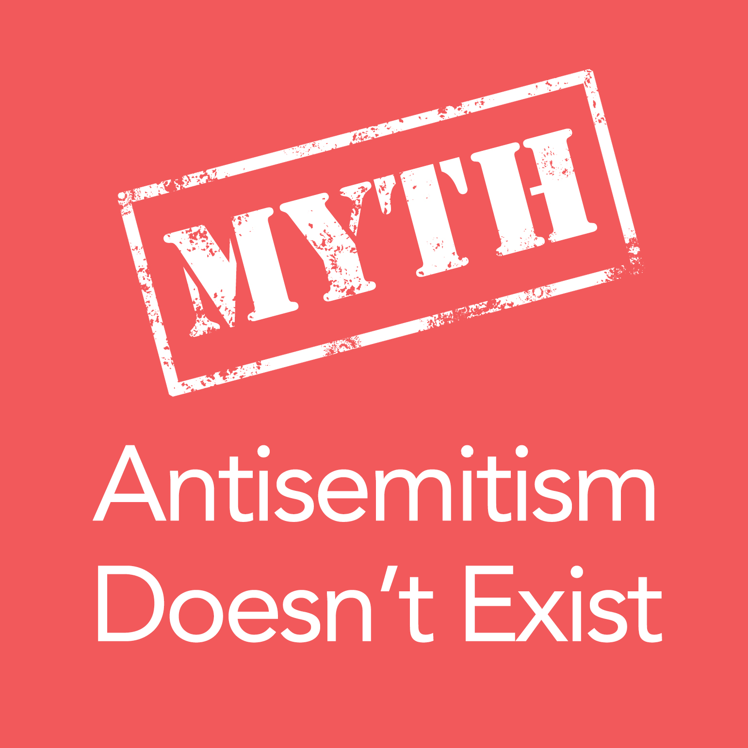 Anti-Semitism Does Not Exist