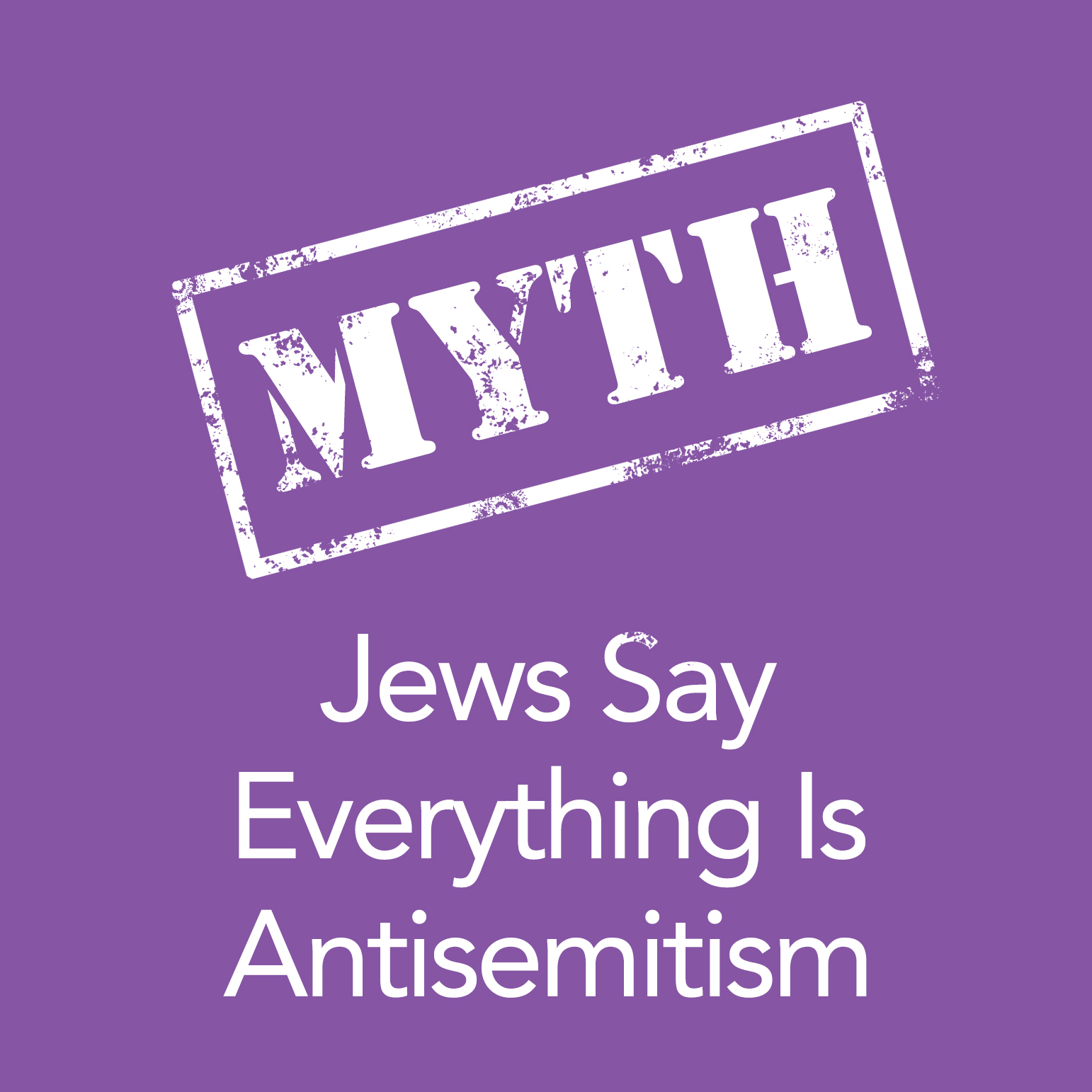 Jews Say Everything is Anti-Semitic